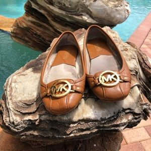 Brown Michael Kors Flats